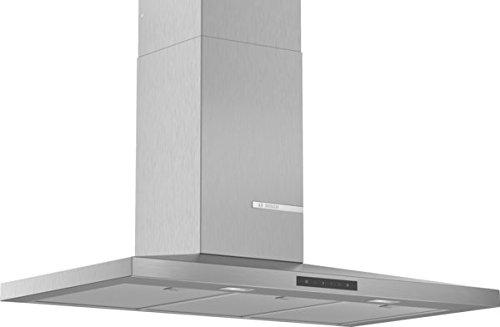 Bosch DWQ96DM50 hotte 610 m³/h Monté au mur Acier inoxydable A - Hottes (610 m³/h, Conduit, A, A, C, 61 dB)