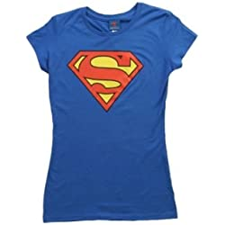 Womens Superman T-Shirt X-Large