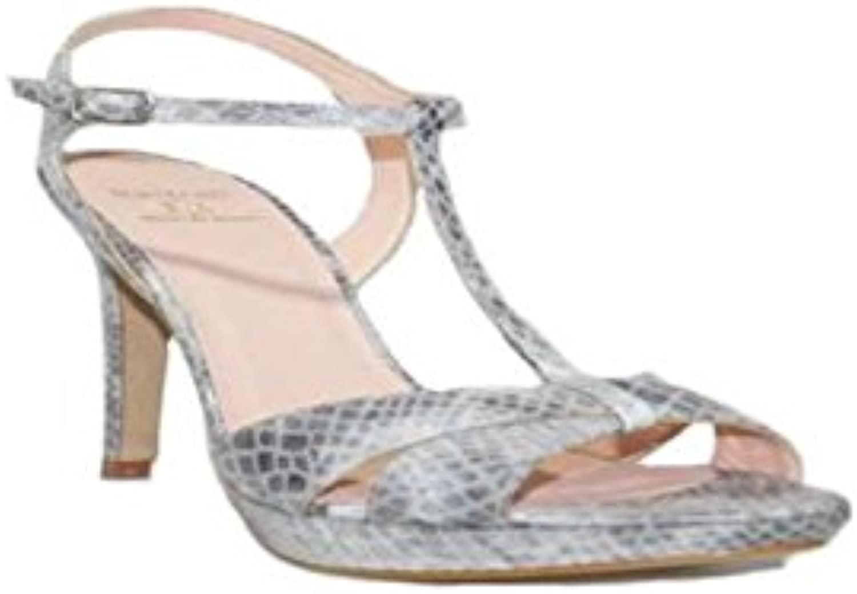 MAYFRAN - MAYFRAN Tacon  Serpiente 5572S -1 Zapatos Mujer Tacón Alto Fiesta Elegante Oficina Plataforma Sandalias... -