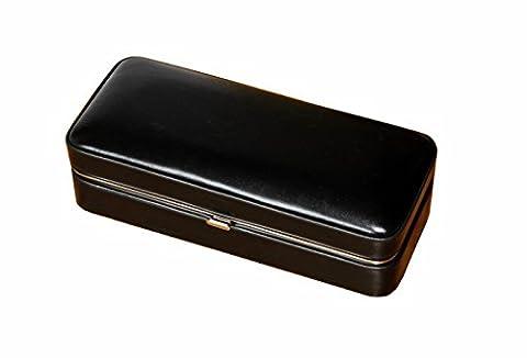 Étui à cigares en cuir - finish humidor pour 4 cigares