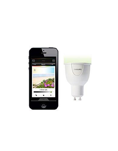 Philips hue – LED personal wireless lighting – 1 x 6.5W GU10 – Erweiterung für alle hue Starter Sets,Energieklasse A - 2