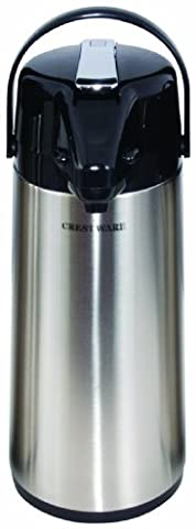 Crestware 3-Liter Stainless Lined Airpot