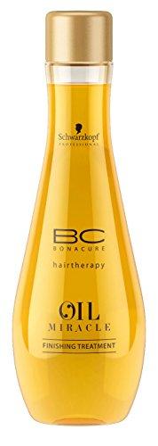 Schwarzkopf Professional Huile Oil Miracle Légère Soin de Finition pour Cheveux Normaux à Epais BC Bonacure 100ml