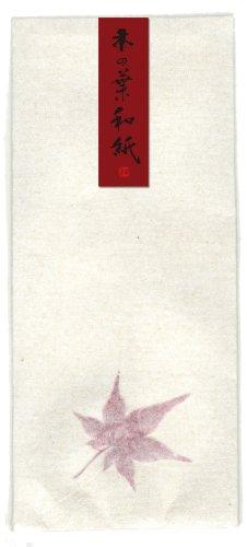 Washi Kawasumi Hand Made Washi Japansese Papier Umschlag, rot Ahorn