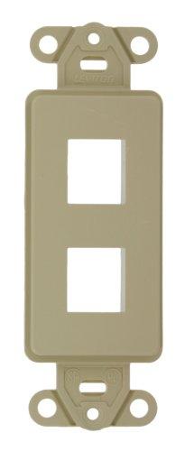 Leviton Decora Wand Jack Einsatz Kit, 6P6C X F, 110Stil, 41658-I Decora Jack