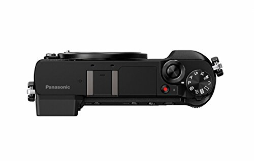 Panasonic Lumix DMC-GX80EG-K Fotocamera Mirrorless, 16MP, Post Focus, 4K Photo & 4K Video, Nero