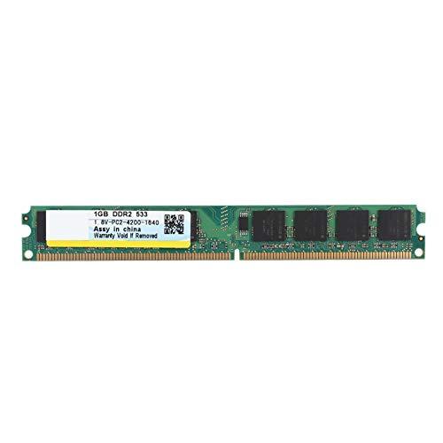 Pasamer Xiede 1G Desktop Speicher RAM Modul 533MHZ 240pin für DDR2 PC2-4200 Desktop Computer 1.8V -