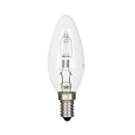30 W SES HALOGENLAMPE KERZE LAMPE - 10 STÜCK (Ge-licht-schalter)