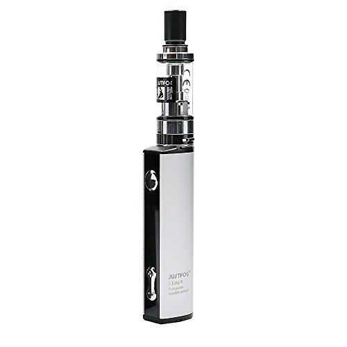 Justfog Q16 Komplettsatz mit Eingebaut 900mAh J-Easy 9 Batterie (Nein Nikotin) (Silber-)