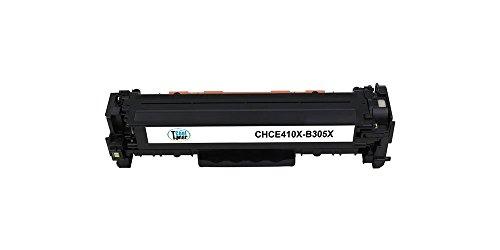 Cool Toner compatibile CE410X per HP LaserJet Pro 300 Color M351a MFP M375nw(4000 pagine, Nero, Confezione da 1 pezzi)
