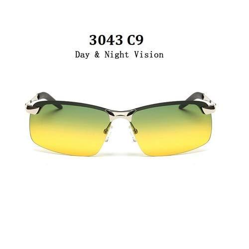 GFF UV400 Brille New Alloy Aluminium Männer Sonnenbrille Brand Design Polarisierte Sonnenbrille Fahren Männlichen Mode Brillen Randlose Outdoor