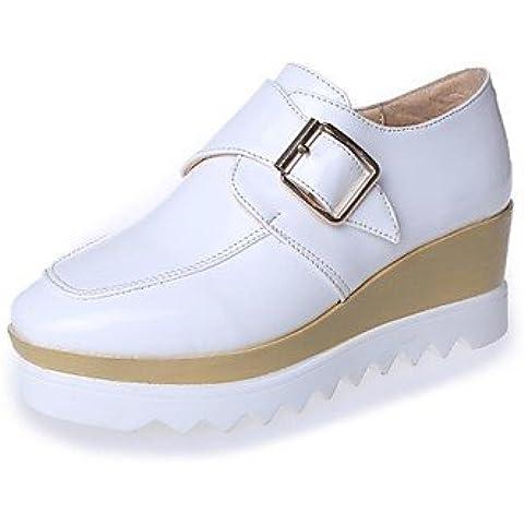 Scarpe donna Round Cuneo Oxfords tacco Scarpe più colori disponibili