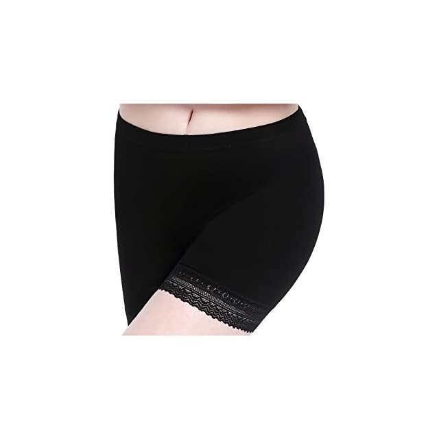 Munvot Femme Short sans Couture Shorty Fille Elastique Confortable  Multiusage · Femme Short sous Jupe Culotte de Sécurité Douce Stretch  Leggings Court ... b1543c1b76e