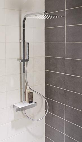 ALTERNA - Système de douche carrée DOMINO,consommation douche de tête débit 9,75 L/min, do - B36630-3 -