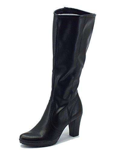 Stivali Dior donna Mercante di Fiori in ecopelle elasticizzara nera (Taglia 40)