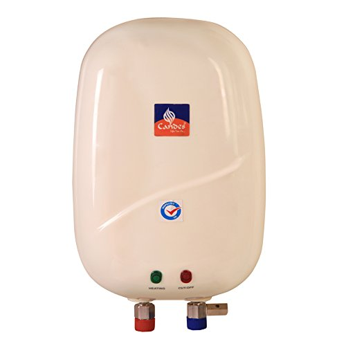 Candes - 1 Ltr Storage Electric Instant Water Heater (ABS)
