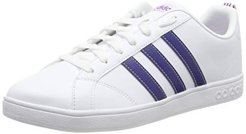 new arrival 04b92 bda50 adidas Vs Advantage, Chaussures de Fitness Femme, Blanc  (Ftwbla Tinmis Pursho