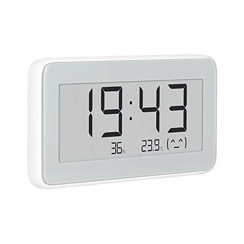 MIJIA Bluetooth-Thermometer, Temperatur- und Feuchtigkeitsmessung, Tinten-Bildschirm, elektronische Uhr (Medizinische überwachung-uhr)