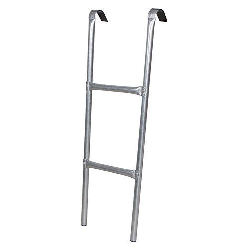 Best For Garden Trampolin Leiter 74 cm 86 cm 92 cm oder 110 cm lang Treppe mit 3 Breiten Stufen praktische Einstiegsleiter für Gartentrampoline (92 cm)