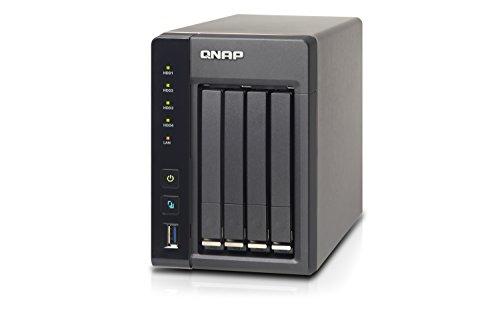 QNAP TS-453S Pro NAS-System (2 x 2GB DDR3L RAM, 512GB Flash-Speicher, 2x Gigabit RJ-45 Ethernet port)
