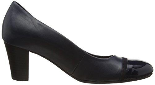 Gabor - Deal, Scarpe col tacco Donna Blu (Blue (Ocean Leather/Patent/Suede))