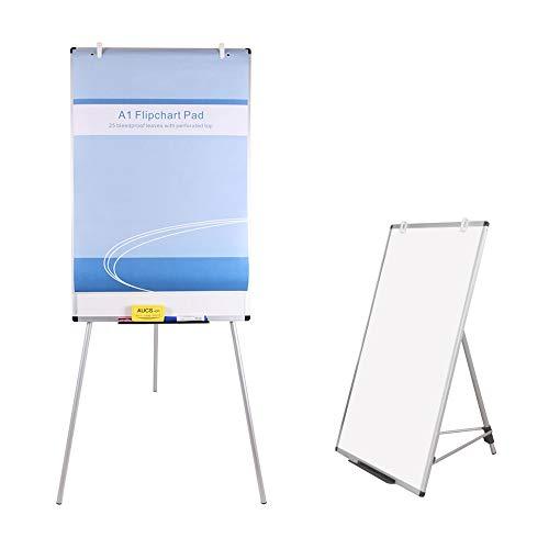 VIZ-Pro LICHT Melamin Stativ Whiteboard/Flipchart-Staffelei, 600mm W x 900mm