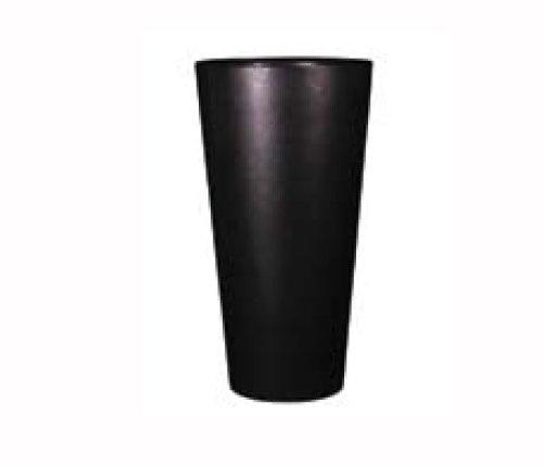 claire-en-vogue-plante-fleurs-art-finition-brillante-35-x-70-cm-noir-graphite