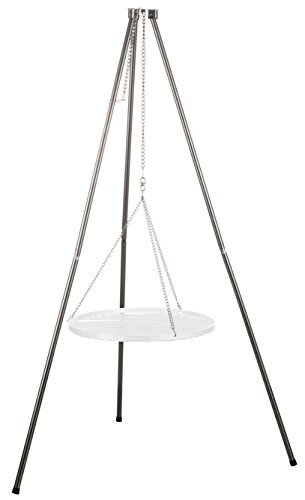 Brandseller struttura in acciaio inox per griglie girevoli alte 140 cm | Ø 50 cm | Ø 60 cm | Ø 70 cm | Ø 80 cm