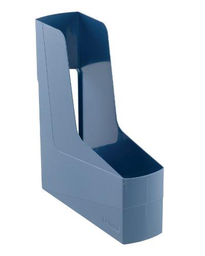 Fellowes - Cartella porta riviste G2Desk, con impugnatura, in materiale riciclato all'80%, 12 pezzi, colore: Blu