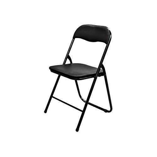 Komfortable Mid-Back-Mesh-Bürostuhl, ergonomisches Design, Leder Kunst Kissen, schwarz zurück - Leder Back Spiel-stuhl