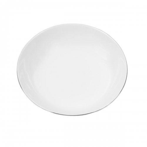 Assiette creuse calotte 22 cm Bergenia en porcelaine