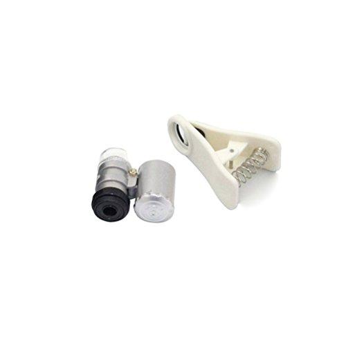 WINOMO 60 x 3 cm, decorazione a Clip, motivo lente di ingrandimento per obiettivo fotocamera Zoom ottico