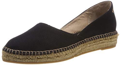 VISCATA Barcelona , Damen Espadrilles, schwarz - schwarz - Größe: 35,5 EU -