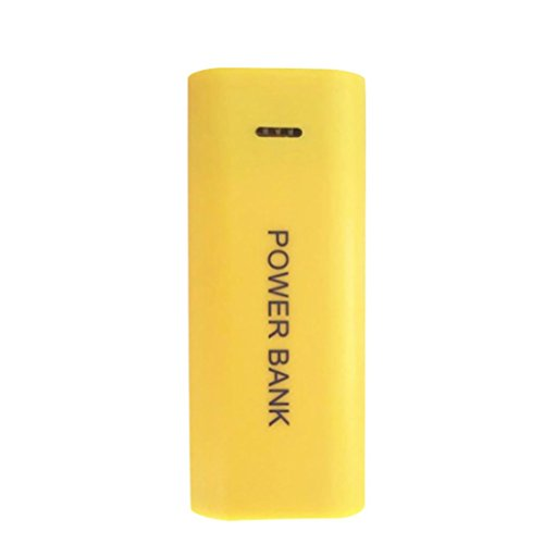 086b925ce45 Batería externa portátil de 5600 mAh, con 2 pilas 18650, para teléfono  móvil iPhone