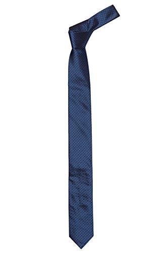 BOSS Krawatte Tie 6 cm 50315613 Herren, Dunkelblau, ONE SIZE