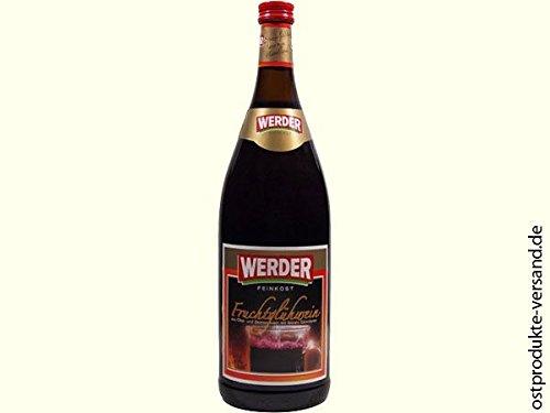Werder Glühwein Frucht 1,0L | nostalgische DDR Kultprodukte | Ostprodukte