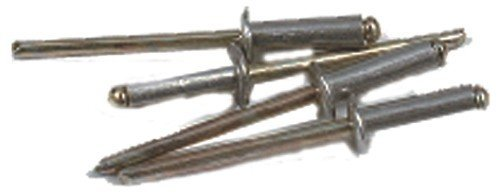 Set 1000 rivetti alluminio mm 4x12 e-100 utensileria manuale