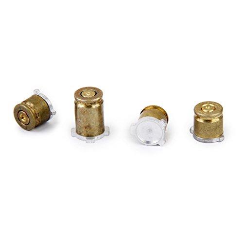 Sharplace 4 Stücke Tasten Kugel Schaltflächen Mod Kit Kugel Tasten für Xbox One-Controller