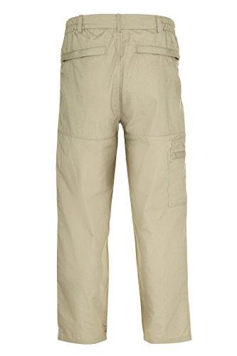 Champion Wenlock Pantalon Imperméable Durable avec Poches Homme Beige