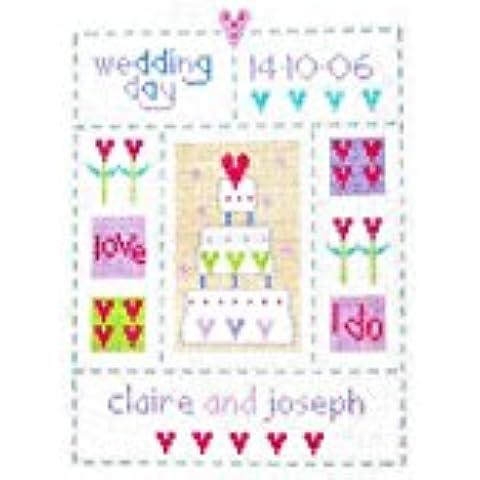 Wedding Sampler-Kit per punto croce