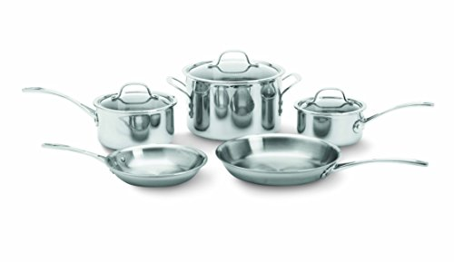 Calphalon Tri-Ply Stainless Steel 8-Piece Cookware Set