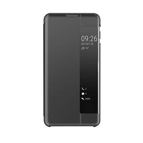 ote 8 Flip Hülle,Cool Kreativ Kontrastfarbe PC Translucent Window View Mikrofaser Pu Leder Zurück Standing Wallet Brieftasche Schutzhülle Etui für Samsung Galaxy Note 8 ()
