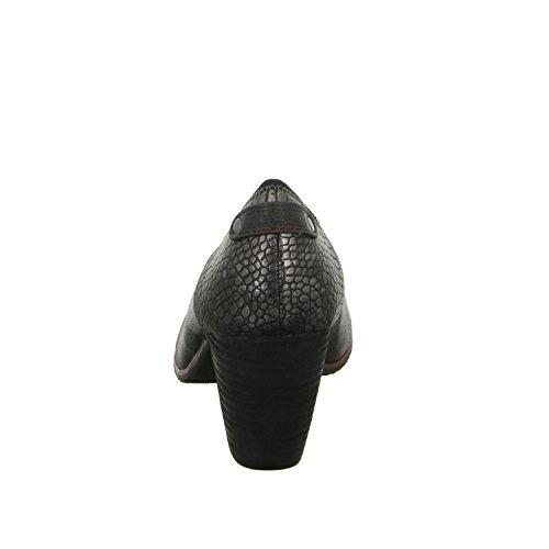 s.Oliver 5-22402-25/002 Damen Pumps eleganter Boden ab 50mm Absatz Schwarz