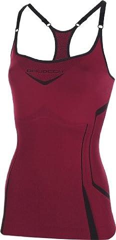 Brubeck Camisole CM10070 Tanktop m. Sport-BH (integriert) Laufshirt Fitness,