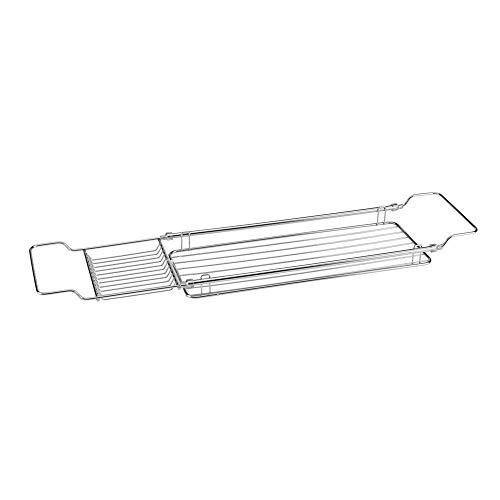 Metaltex Reflex Badewannenbrücke 85 x 16 cm, verchromt -