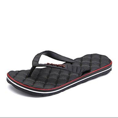 Slippers & amp da uomo;Luce, Primavera, Estate Suole PU Casual Altri Nero Blu Viola Grigio Altro sandali US10.5 / EU43 / UK9.5 / CN45