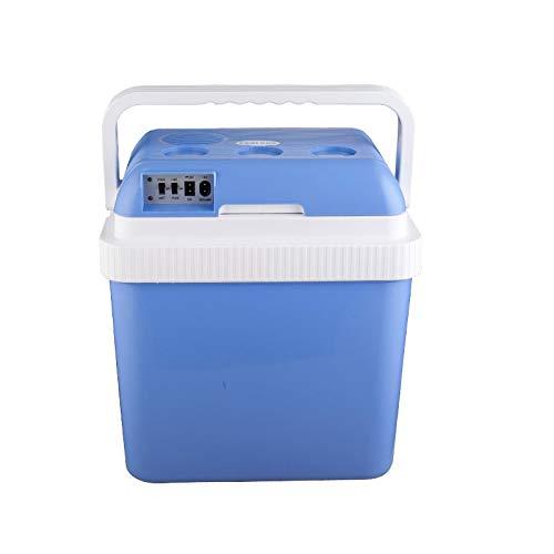 HDZWW Auto-Kühlschrank 24L Auto-Zuhause Dual Use Mini kalten und warmen Inkubator Kühlung Apartment-Kühlung Mini-Kühlschrank (Größe: 24L) Portable Outdoor-Essentials