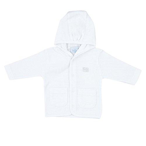 Feetje Unisex - Baby-Jacke mit Kapuze 518.071 weiß (550) Gr.50
