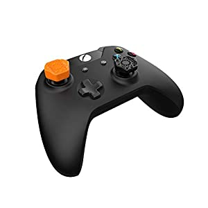 Pro-Hex Thumb Grips – Xbox One – 2 Orange / 2 Black Pack
