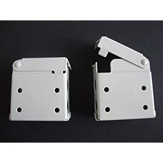 2 Blind Brackets-2 Complete Pairs Included by Amazing Drapery Hardware